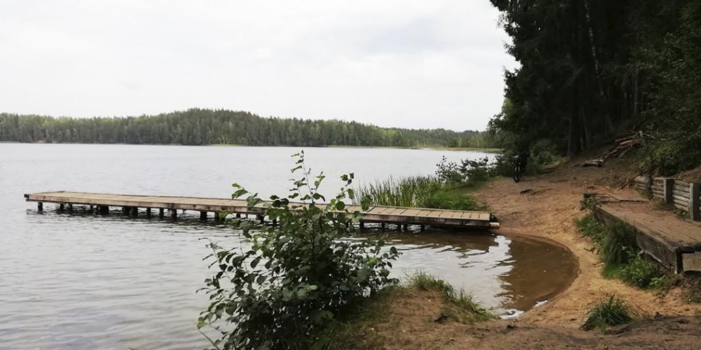 Турстоянка озеро Чистик