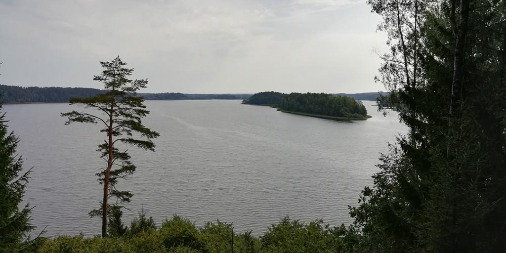 Смотровая площадка на озеро Саршо