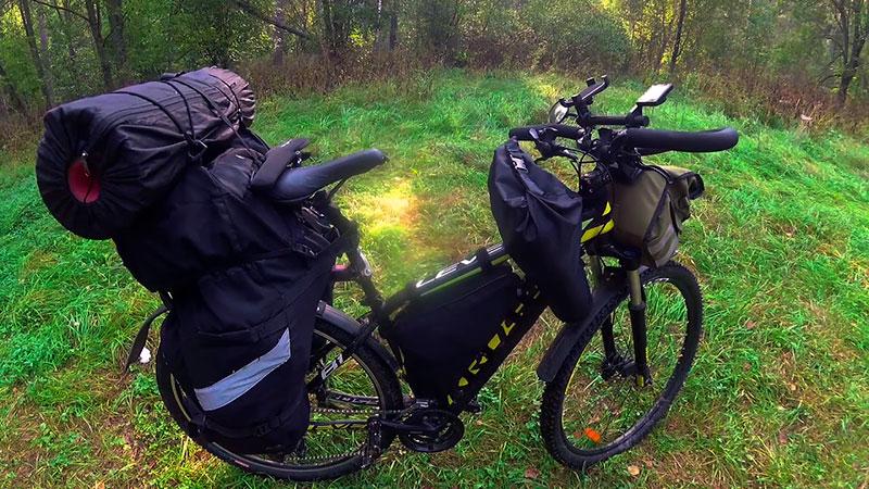 Выбор велосумок