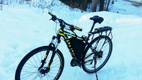 Подготовка велосипеда к длительному велопоходу.